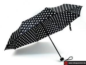 Dames paraplu  opvouwbaar - Els zwart