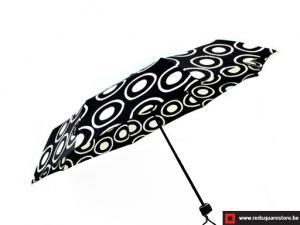 Dames paraplu  opvouwbaar - Monika zwart