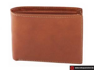 Leren heren portefeuille Matisse - bruin