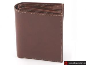 Leren heren portefeuille Albrechtburg - bruin