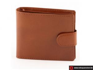 Leren heren portefeuille Herent - bruin