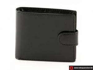 Leren heren portefeuille Herent - zwart