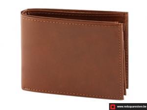 Leren heren portefeuille Tyconti - bruin
