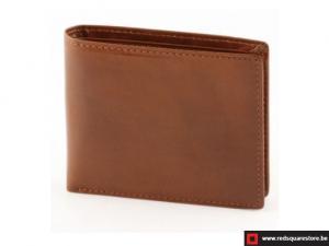 Leren heren portefeuille Conti - bruin