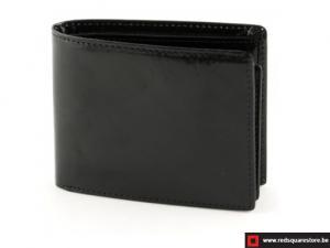 Leren heren portefeuille Conti - zwart