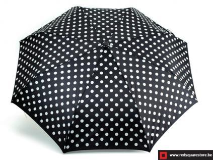 530461zw  dames paraplu  opvouwbaar els zwart 01