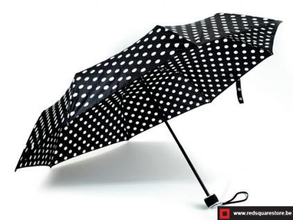 530461zw  dames paraplu  opvouwbaar els zwart 02