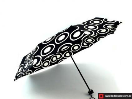530666zw dames paraplu opvouwbaar monika zwart 01