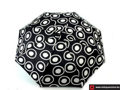 530666zw dames paraplu opvouwbaar monika zwart 02