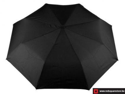 530693zw  heren paraplu max zwart 01