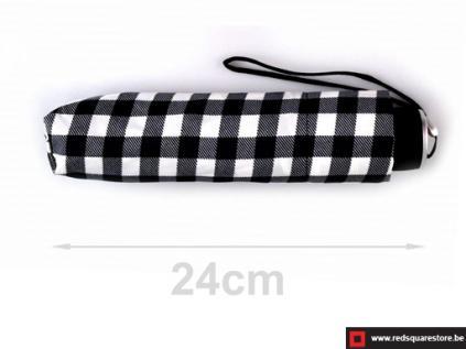530741zw  dames paraplu opvouwbaar ann zwart 03