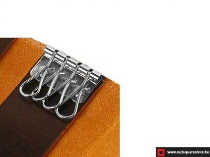 ccod522vadb leren sleutelhanger toscanella fold-up_donker bruin 02